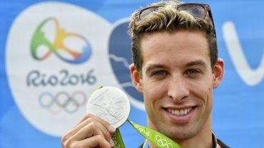 La médaille d'argent olympique de Pieter Timmers se casse, il en reçoit une nouvelle