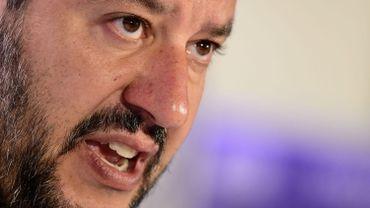 Matteo Salvini, le chef de file de la Lega promeut l'idée d'une quasi-monnaie parallèle italienne