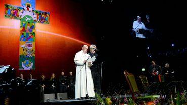 Le pape François lors d'un rassemblement œcuménique à Malmö, le 31 octobre 2016