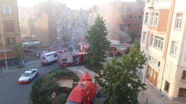 Bruxelles : une dizaine de personnes incommodées par la fumée d'un incendie à Schaerbeek