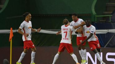 Leipzig s'offre une demi-finale de rêve face au PSG