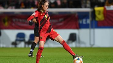 Tessa Wullaert sous le maillot des Red Flames