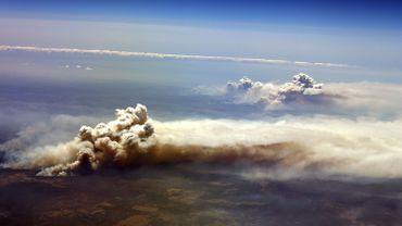 Les incendies vus du ciel