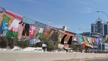Au Kurdistan d'Irak, un patchwork de 5 km en hommage aux femmes victimes de violence