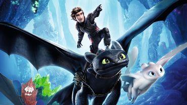 """Le troisième volet de la saga animée """"Dragons"""" est propulsé en tête du box-office mondial, suivi par """"Glass"""", l'ancien leader."""