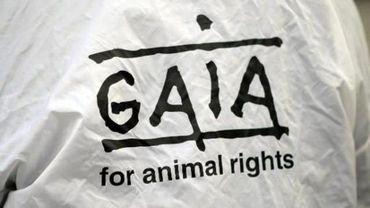 Gaia, organisation de défense des droits des animaux.