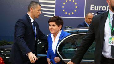 La Première ministre polonaise Beata Szydlo