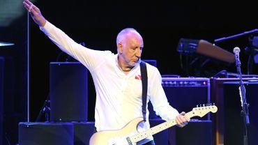 Pete Townshend en concert avec les Who en 2017