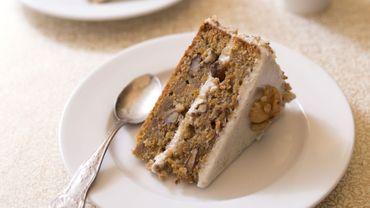 Carrot layer cake à la farine de blé tendre
