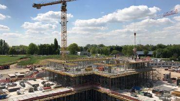Le CBTC, à Louvain-la-Neuve, c'est une surface totale au sol de 12.000 m².