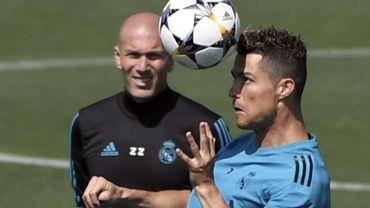 Zinedine Zidane et Cristiano Ronaldo