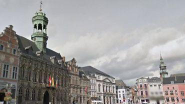 L'Hôtel de ville de Mons