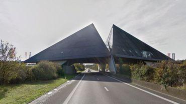 L'E411 fermée à Wanlin en direction du Luxembourg