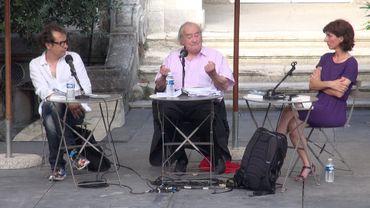 Avignon - Jack Ralite et Karelle Ménine - Par la complicité de la pensée -  Dialogue avec Jack Ralite / Ateliers de la pensée - Festival d'Avignon 2015