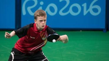 Laurens Devos pour la première fois dans le tableau final d'un tournoi ITTF