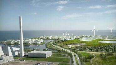 Le projet d'îles artificielles au Danemark