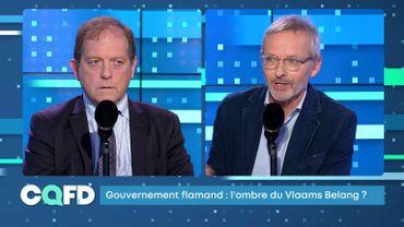 CQFD: Gouvernement flamand: l'ombre du Vlaams Belang?