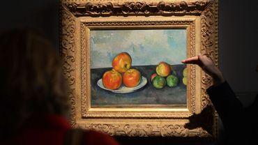 """""""Les pommes"""" de Paul Cézanne"""