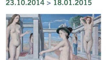"""L'expo """"Delvaux dévoilé"""" sera visible au Musée d'Ixelles du 23 octobre 2014 au 18 janvier 2015"""