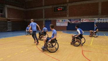 Une équipe de handball en fauteuil roulant voit le jour à Beyne-Heusay