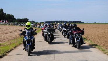 Mille motards en rando pour CAP48 avec les animateurs Classic21 !