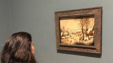"""Au Canada, les médecins pourront prescrire une visite au musée comme traitement. Comme par exemple, aller voir """"Le paysage d'hiver"""" de Bruegel.."""