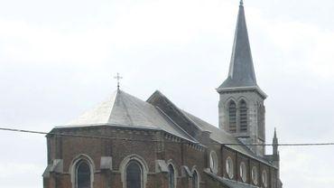 L'église d'Amay.