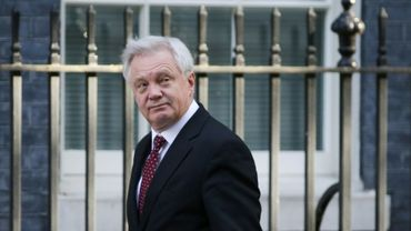 David Davis, le ministre chargé du Brexit, le 12 septembre 2017 à Londres
