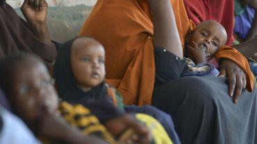 185.000 enfants souffrent de malnutrition sévère en Somalie