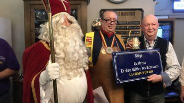 """Visé: le café """"Les Arbalétriers"""" remporte la chope d'or"""