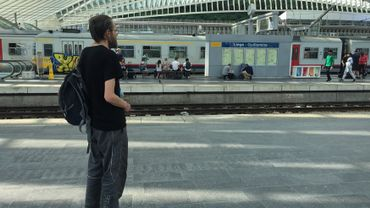 """ERic, sans-abri à Liège : """"On se dit que l'on a forcément fait quelque chose de mal pour en arriver là."""""""