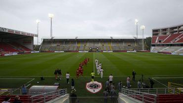 Match amical de l'Antwerp face à Lyon