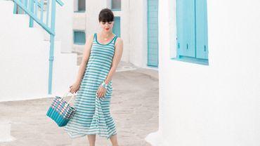 """Pauline Privez de """"Pauline Fashion Blog"""" révèle ses astuces pour profiter des bienfaits des vacances tout en se protégeant des méfaits du soleil."""