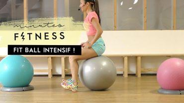 Minutes Fitness #14 : entraînez-vous avec un ballon