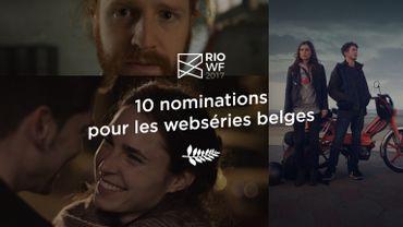 10 nouvelles nominations pour les webséries belges