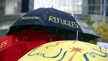 """Une marche """"refugees welcome"""" avait déjà eu lieu le 27 septembre 2015"""