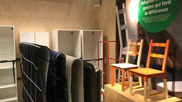 """L' """"espace Hub montois"""" d'Ikea"""