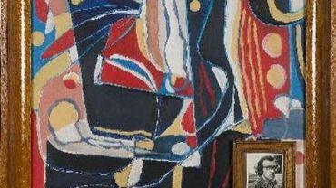 Vente aux enchères d'une toile de Jacques Charlier pour les victimes de guerre en Ouganda