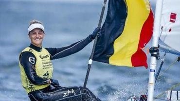 Emma Plasschaert quitte Hyères en bronze