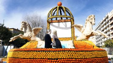 83e Fête du citron de Menton.