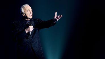 Charles Aznavour donne à 91 ans une série de six concerts à Paris
