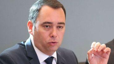 Le ministre wallon de la Santé, le cdH Maxime Prévot.
