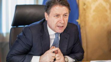 """Le chef du gouvernement italien Giuseppe Conte appelle l'Union européenne à être plus """"ambitieuse, unie et courageuse"""""""