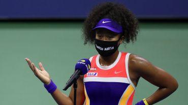 Naomi Osaka à l'US Open