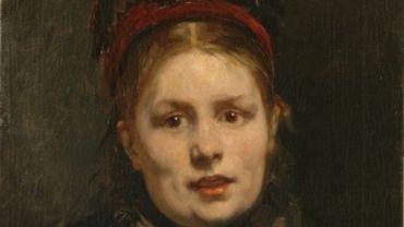 "Alfred Cluysenaar, ""Le portrait de Mme Alfred Cluysenaar"", col. Musée Charlier"