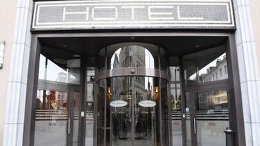 Un hôtel de la rue de Namur, au centre-ville de Bruxelles.