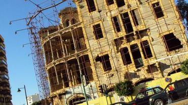 Beyrouth, Achrafieh: bâtiment du futur musée de l'histoire de la guerre