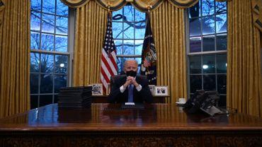 Investiture de Joe Biden: le nouveau président américain a prêté serment et se pose en rassembleur