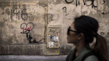 Banksy revendique des oeuvres réalisées à Paris