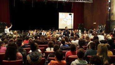 Les musiques de films au coeur d'ateliers de l'Orchestre Philharmonique de Liège